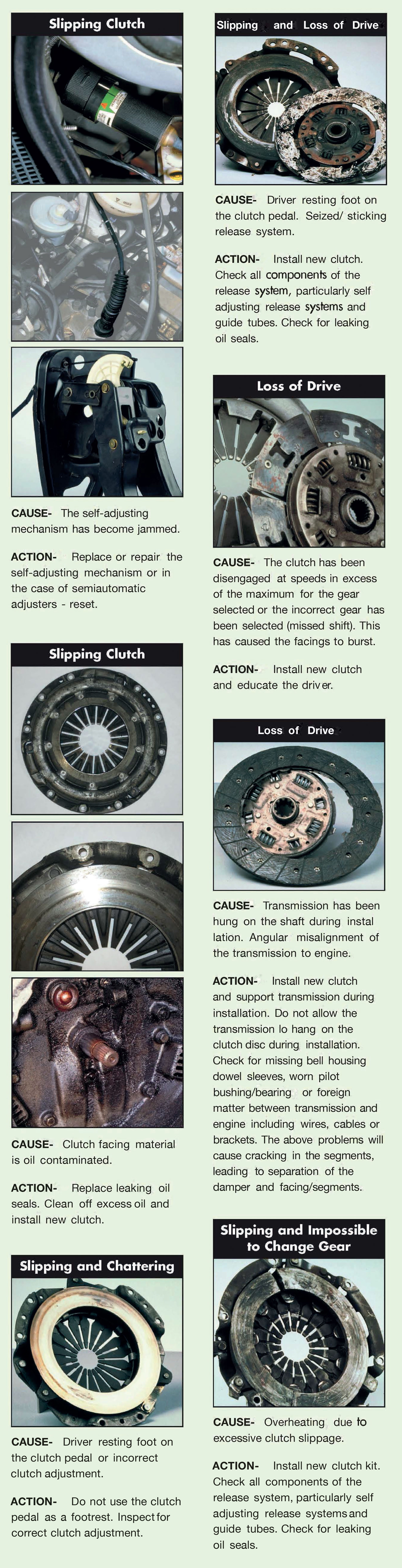 Bully Clutch 1954 Chevy Truck Linkage View The Symptoms And Possible Causes Remedies To Common Problems